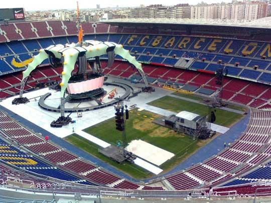 Escenario De La Gira U2 360 Me Hace Ruido