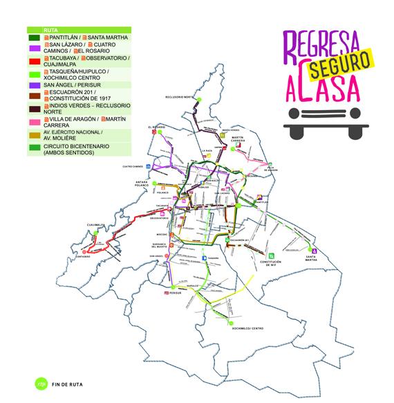 Circuito Bicentenario Expreso : Transporte nocturno del vive latino me hace ruido
