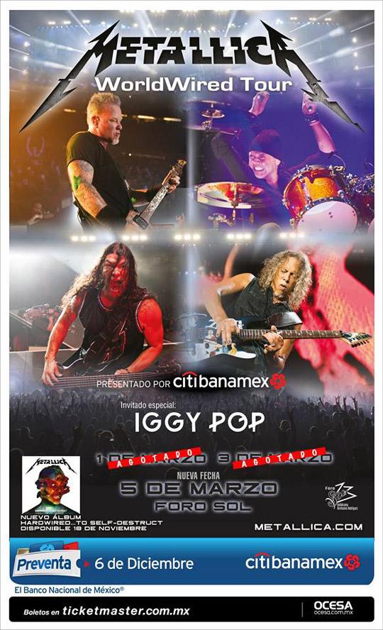 metallica-iggy-pop-mexico-flyer