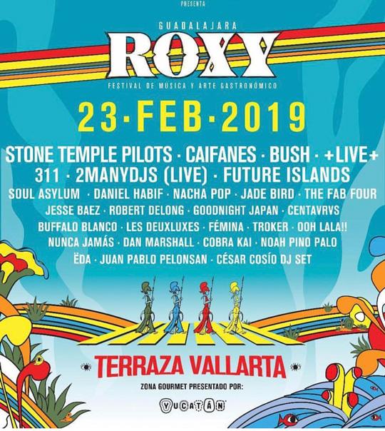 Conoce todo acerca del Roxy Fest GDL ? 1