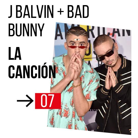 j balvin bad bunny español 2019