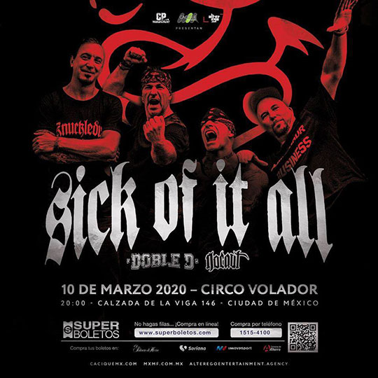 sick of it all flyer