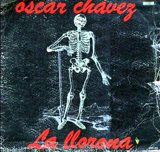 Oscar Chávez llorona