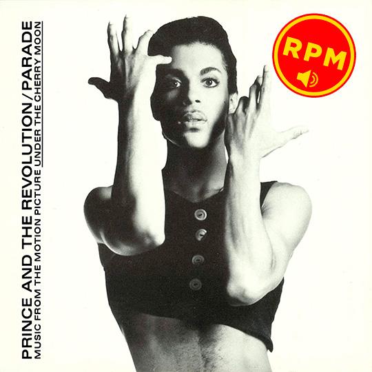 prince parade album cover