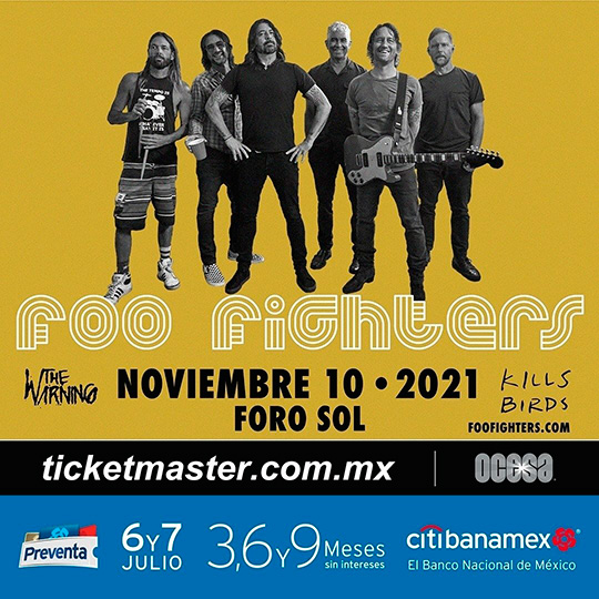 foo fighters mexico 2021